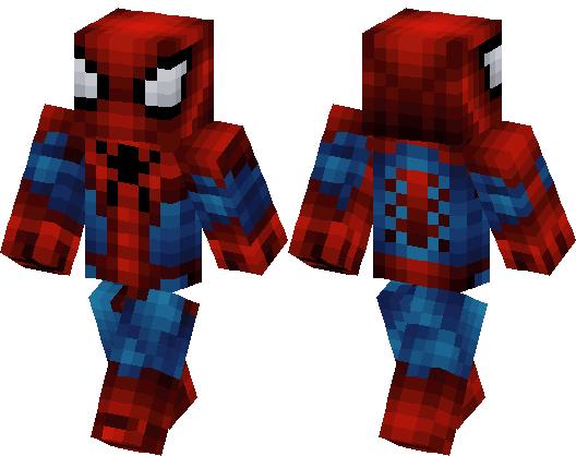 Spider Man | Minecraft Skin
