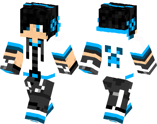 Cool boy in white swag minecraft skin minecraft hub publicscrutiny Image collections
