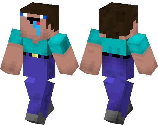 Noob Steve Minecraft Skin Minecraft Hub - Noob skins fur minecraft