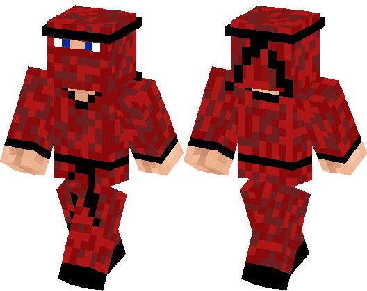 Red Ninja Minecraft Skin Minecraft Hub - Ninja skins fur minecraft