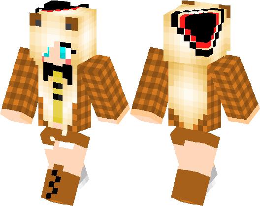 Toy Freddy Girl Fnaf 2 Minecraft