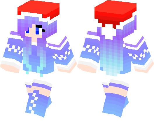 christmas girl minecraft skin minecraft hub - Christmas Skins For Minecraft