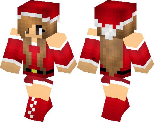 Christmas Minecraft Skin Girl.Girl In Christmas Minecraft Skin Minecraft Hub