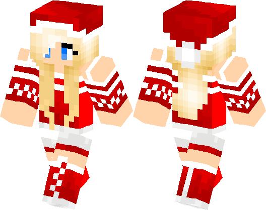 Christmas Minecraft Skin Girl.Girl In Christmas Jumper Minecraft Skin Minecraft Hub