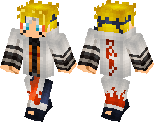 Sage Naruto Skin Minecraft Skin Minecraft Hub - Baixar skins para minecraft pe naruto