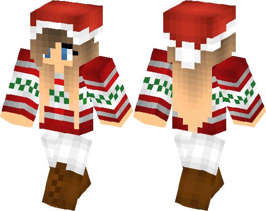 my christmas skin minecraft skin minecraft hub - Christmas Skins For Minecraft