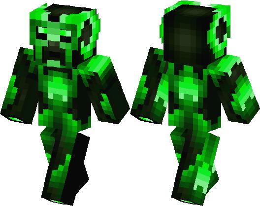 DJ Creeper Minecraft Skin Minecraft Hub - Skin para minecraft pe creeper