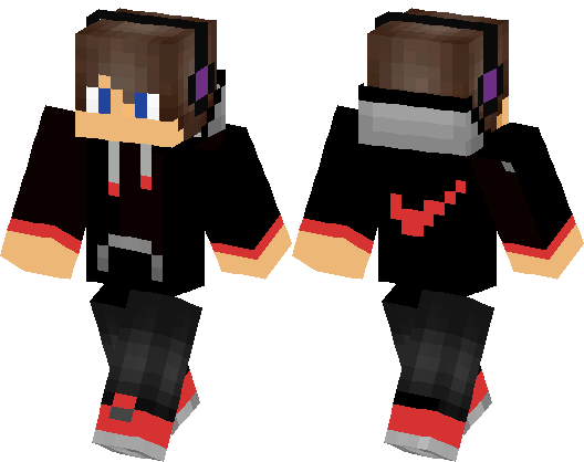 Nike guy in black and red minecraft skin minecraft hub nike guy in black and red sciox Images