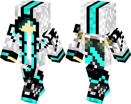 Blue Assassin Boy Minecraft Skin Minecraft Hub - Assassin skins fur minecraft