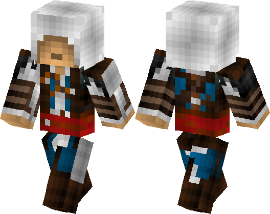 Assassin S Creed Black Flag Edward Kenway Minecraft Skin