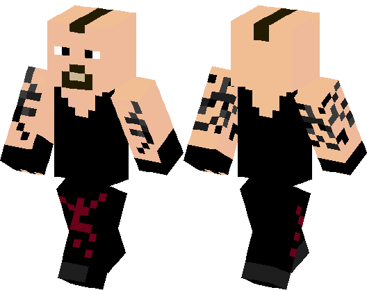 Undertaker Wwe Minecraft Skin Minecraft Hub - Skins para minecraft pe de wwe