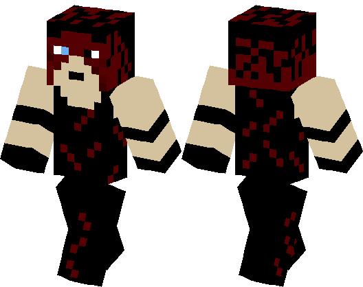 Demon Kane Wwe Minecraft Skin Minecraft Hub - Skin para minecraft pe wwe