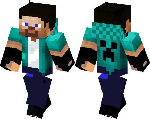 Cool Steve Minecraft Skin Minecraft Hub