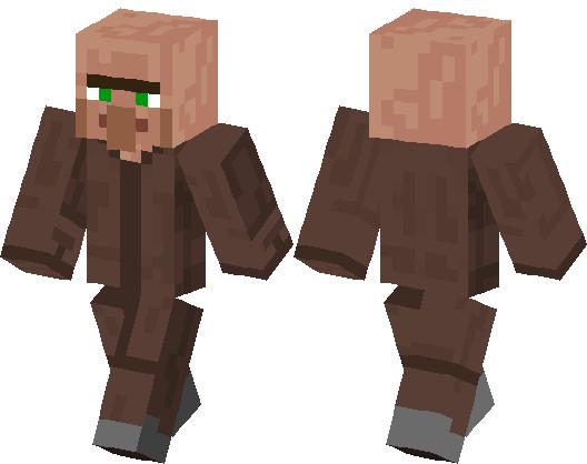 el skins de aldeano minecraft skin minecraft hub