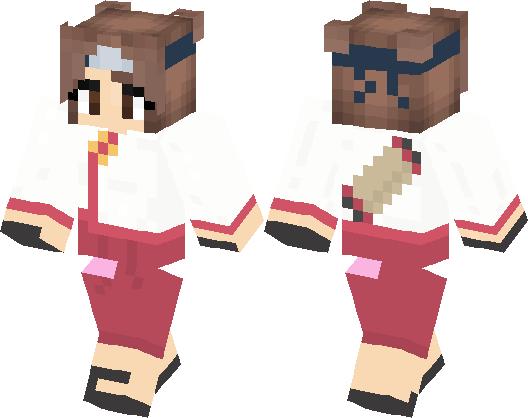 naruto skin minecraft