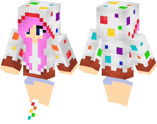 Images Of Minecraft Cake Skins