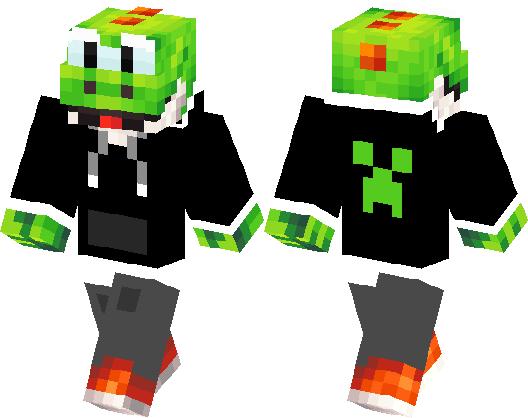 Yoshi Gamer Minecraft Skin Minecraft Hub - Descargar skins para minecraft pe yoshi