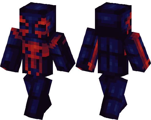 SpiderMan Minecraft Skin Minecraft Hub - Skins para minecraft pe de spiderman