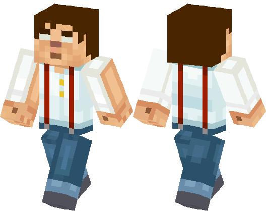 Jesse Brine Minecraft Skin Minecraft Hub