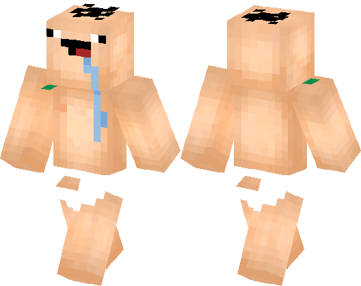 Baby Noob By Dylankroon Minecraft Skin Minecraft Hub - Descargar skins para minecraft pe noob