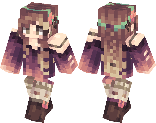 Kawaii Girl Minecraft Skin Minecraft Hub - Skin para minecraft pe kawaii