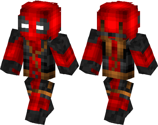Deadpool Skin Minecraft Skin Minecraft Hub - Deadpool skins fur minecraft