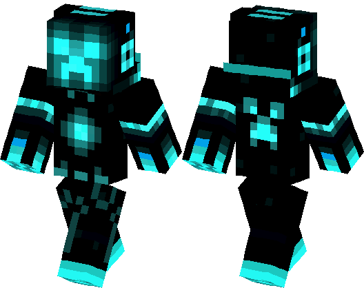 Blue Creeper Skin