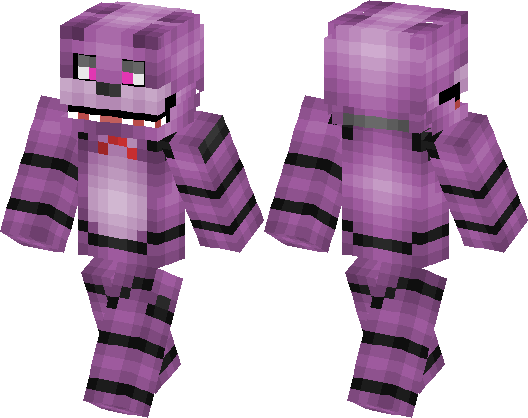 Bonnie The Bunny Minecraft Skin Minecraft Hub - Skins para minecraft pe bonnie