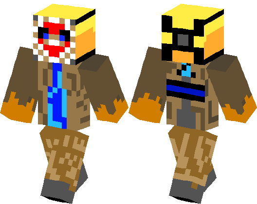 Jason Voorhees Minecraft Skin Minecraft Hub - Skins para minecraft pe jason