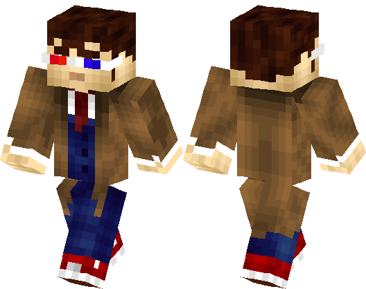 10th doctor skin
