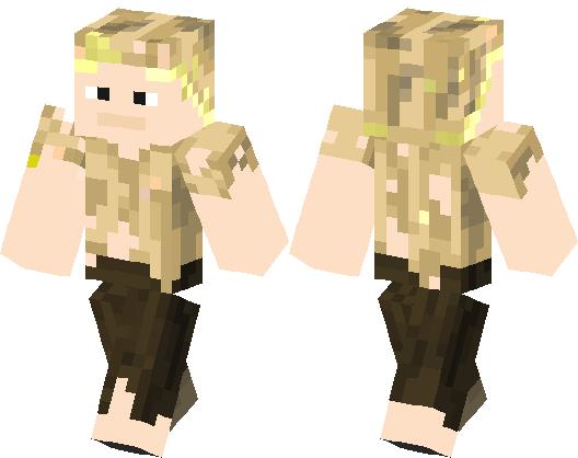 Husk (Alive) | Minecraft Skin | Minecraft Hub