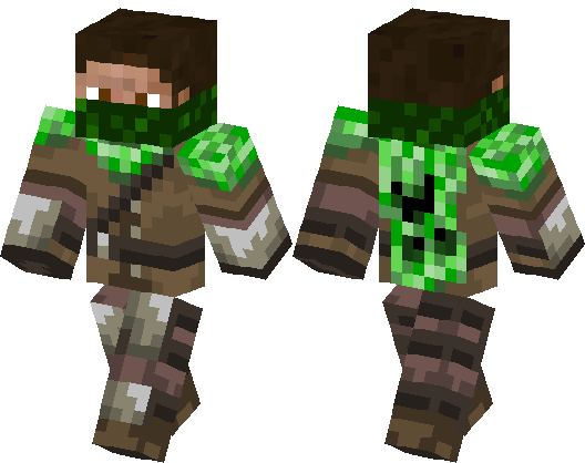 Creeper hunter | Minecraft Skin | Minecraft Hub