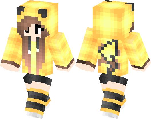 Pokemon Girl Minecraft Skin Minecraft Hub - Skin para minecraft pe de pokemon