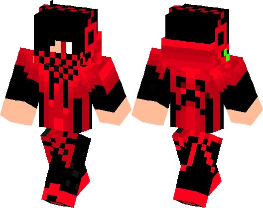 red creeper minecraft
