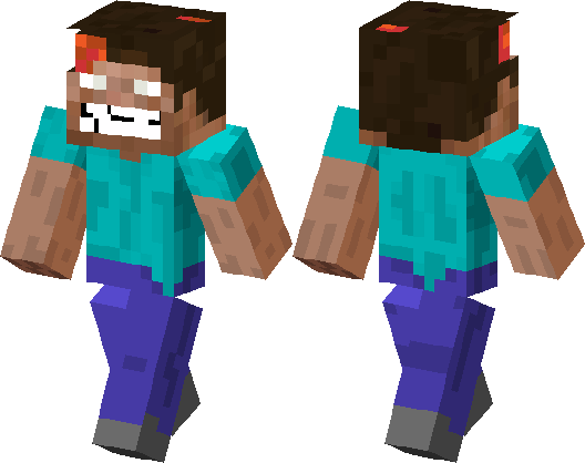 Scary Steve Minecraft Skin Minecraft Hub - Horror skins fur minecraft
