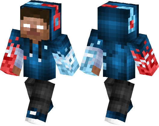Monsters Herobrine Minecraft Skin Minecraft Hub - Monster skins fur minecraft