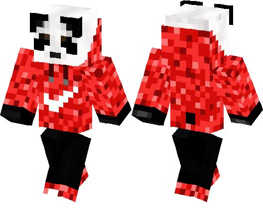 Panda Nike Minecraft Skin Minecraft Hub - Nike skins fur minecraft