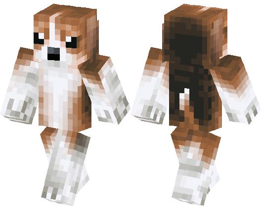 Lovely Dog Minecraft Skin Minecraft Hub