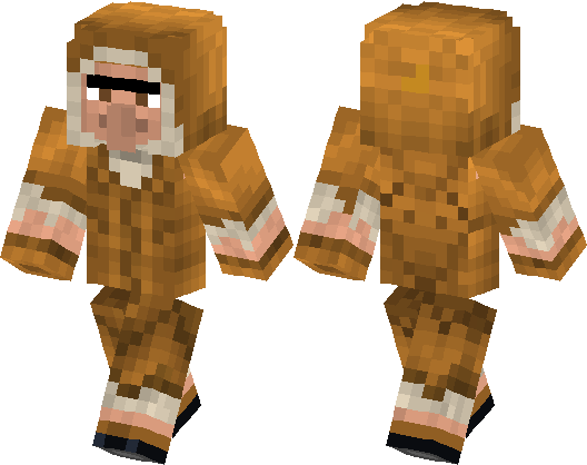 Villager In Coat Minecraft Skin Minecraft Hub - Villager skin fur minecraft pe