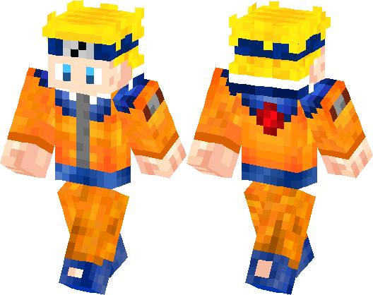 Naruto Skin Minecraft Skin Minecraft Hub - Skins para minecraft pe de naruto