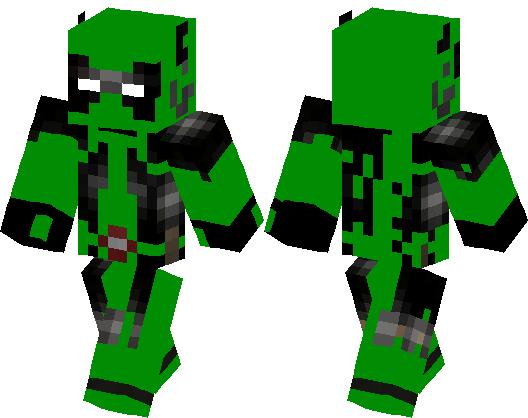 Green Deadpool Minecraft Skin Minecraft Hub - Deadpool skins fur minecraft