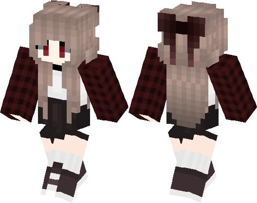Cute Girl 2 Minecraft Skin Minecraft Hub