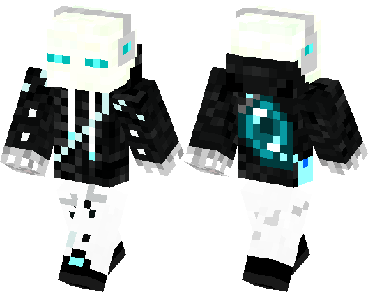 Cool Icy Enderman Minecraft Skin Minecraft Hub