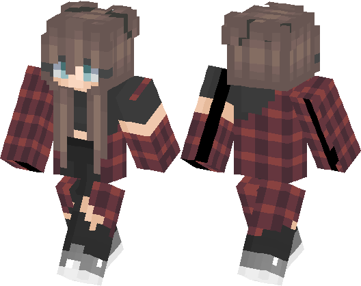 Cute Girl Minecraft Skin Minecraft Hub